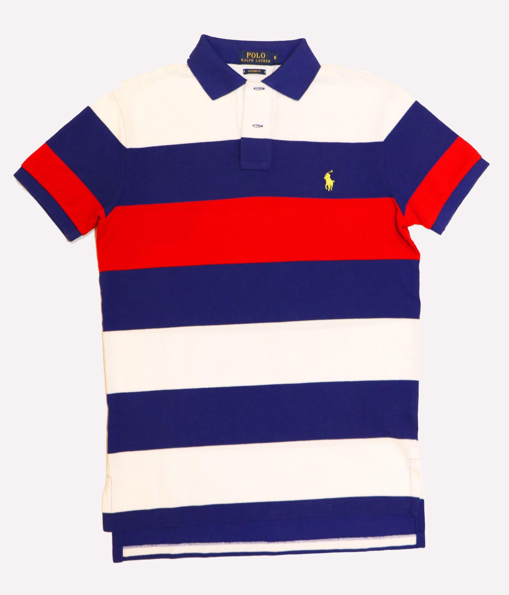 41902f999 ... cheap polo ralph lauren 2017 rayas azul y rojo anamont moda hombre  64edd e3168 ...